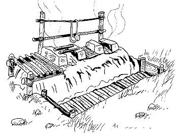 Illustrazione di Giorgio Meo tratta da: Attilio Grieco, Tuttoscout